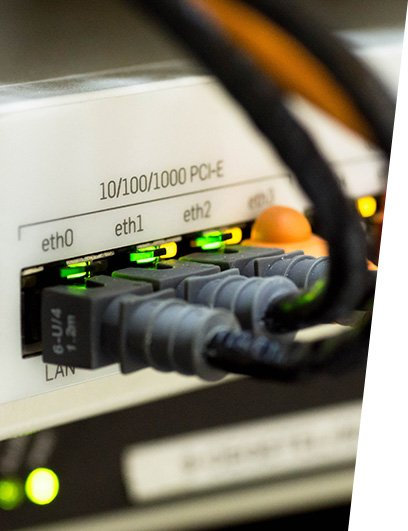 Photo of LAN-connection